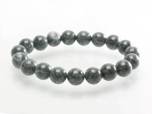 糸魚川翡翠(いといがわひすい)ブレスレット 黒翡翠